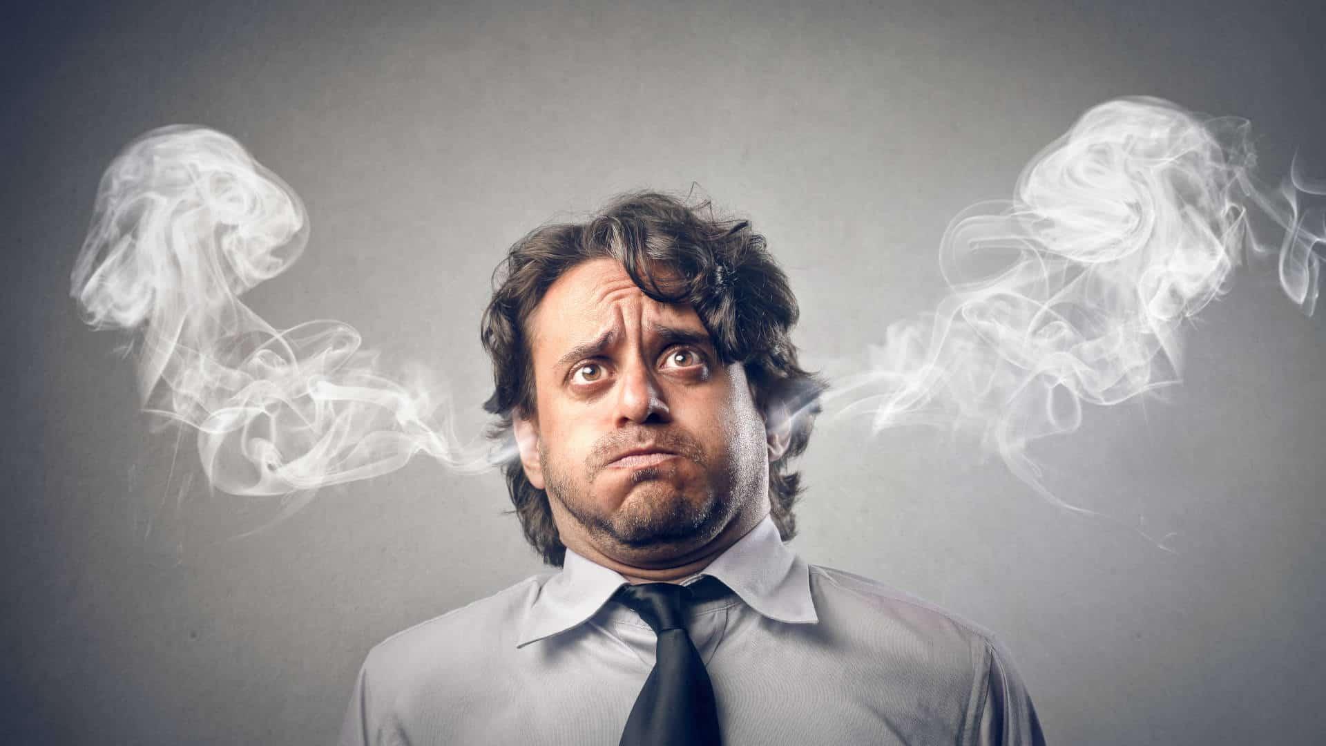 Mensch im Stress