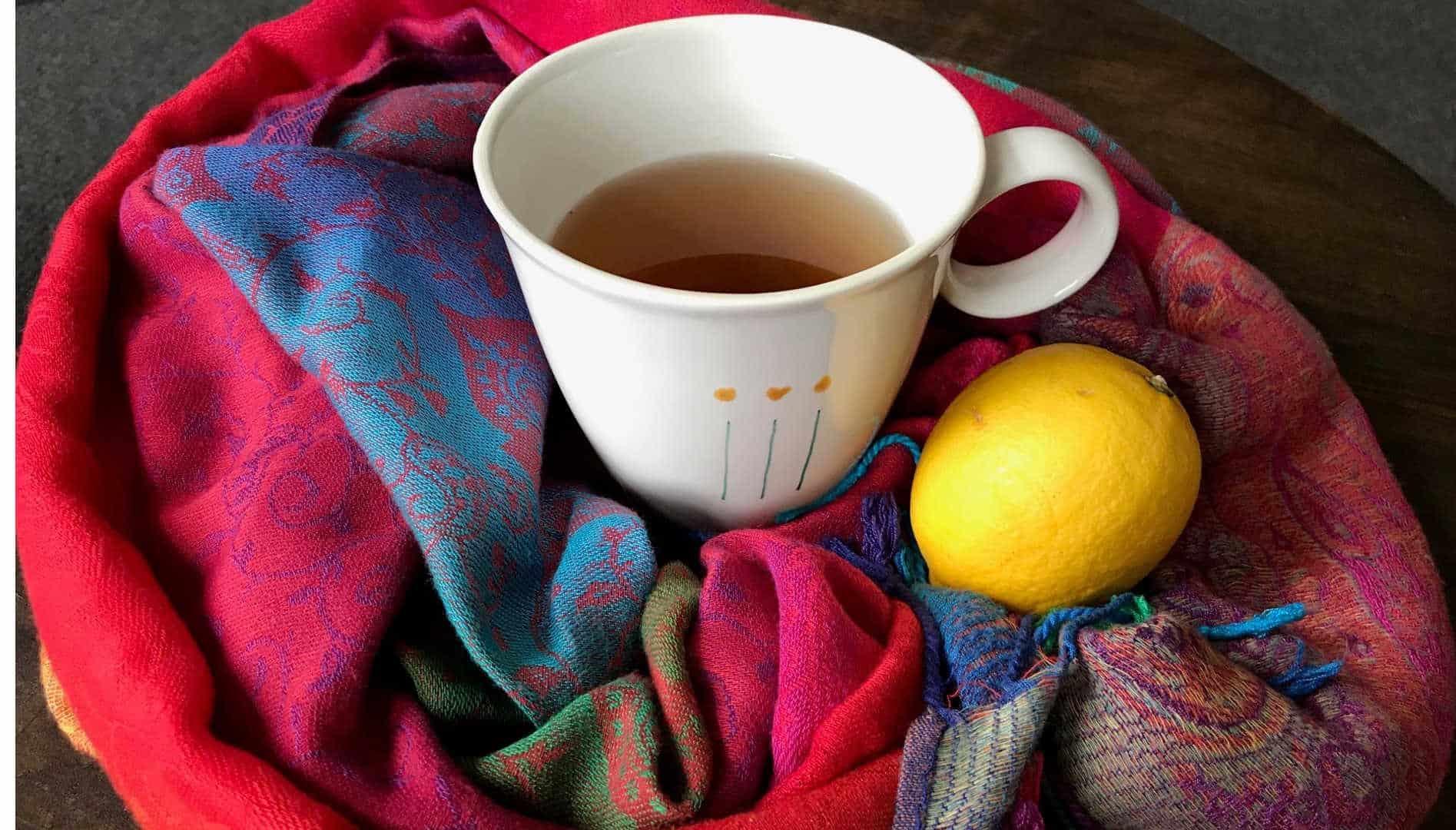 5 Minuten Achtsamkeitsübung bei Erkältung